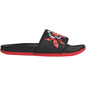adidas Adilette Comfort Slides Women core black/core black/vivid red
